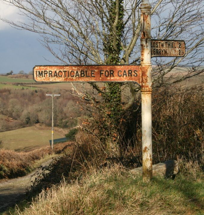 Impracticable for cars