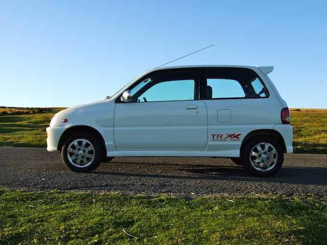 The biggest name in small cars: Daihatsu Cuore Avanzato