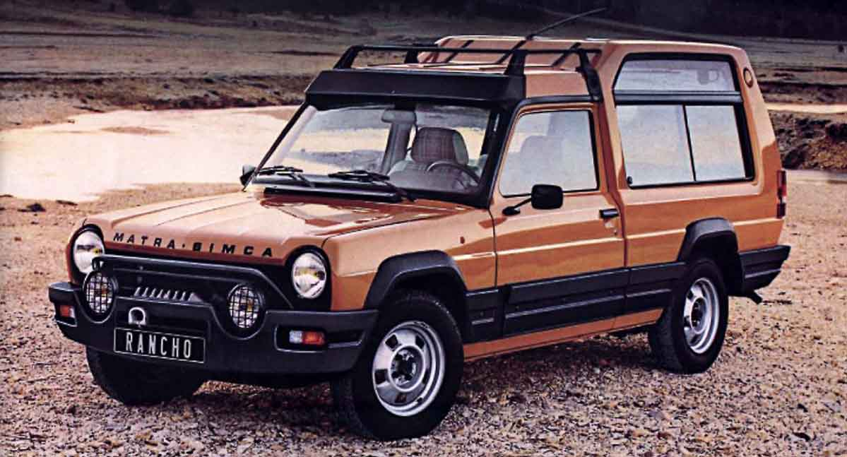 Whatever Happened To The Talbot Matra Rancho Petrolblog