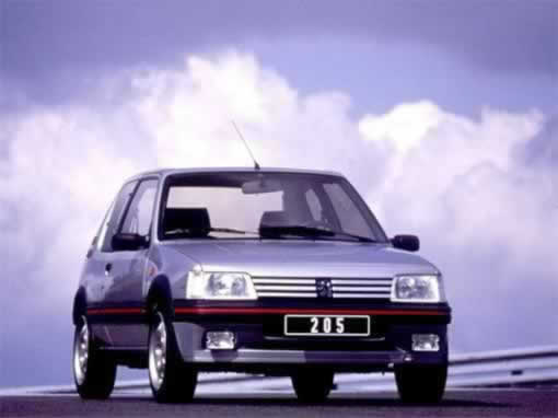 Peugeot Pug 205 GTi - greatest hot hatch ever?