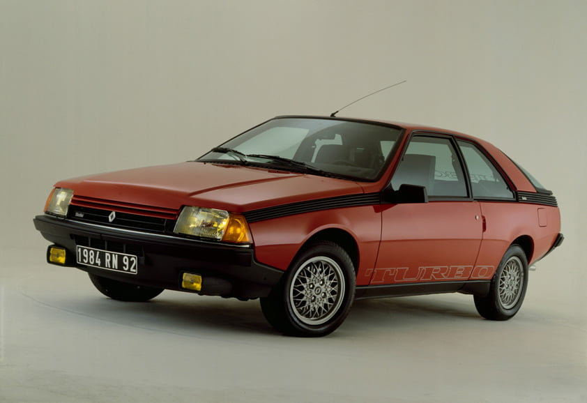 renault fuego turbo