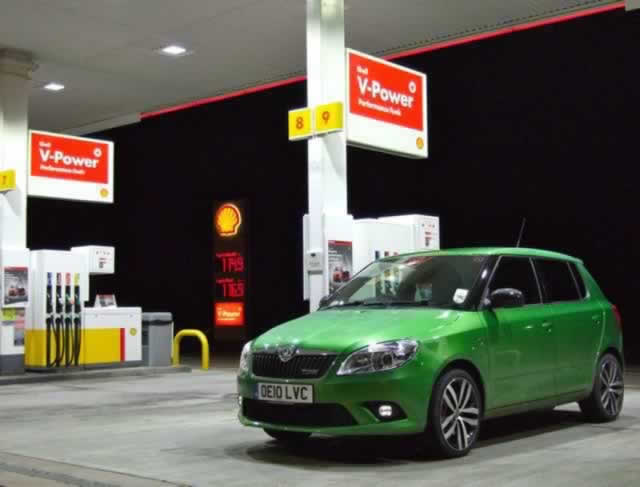 Skoda Fabia vRS Shell V-Power