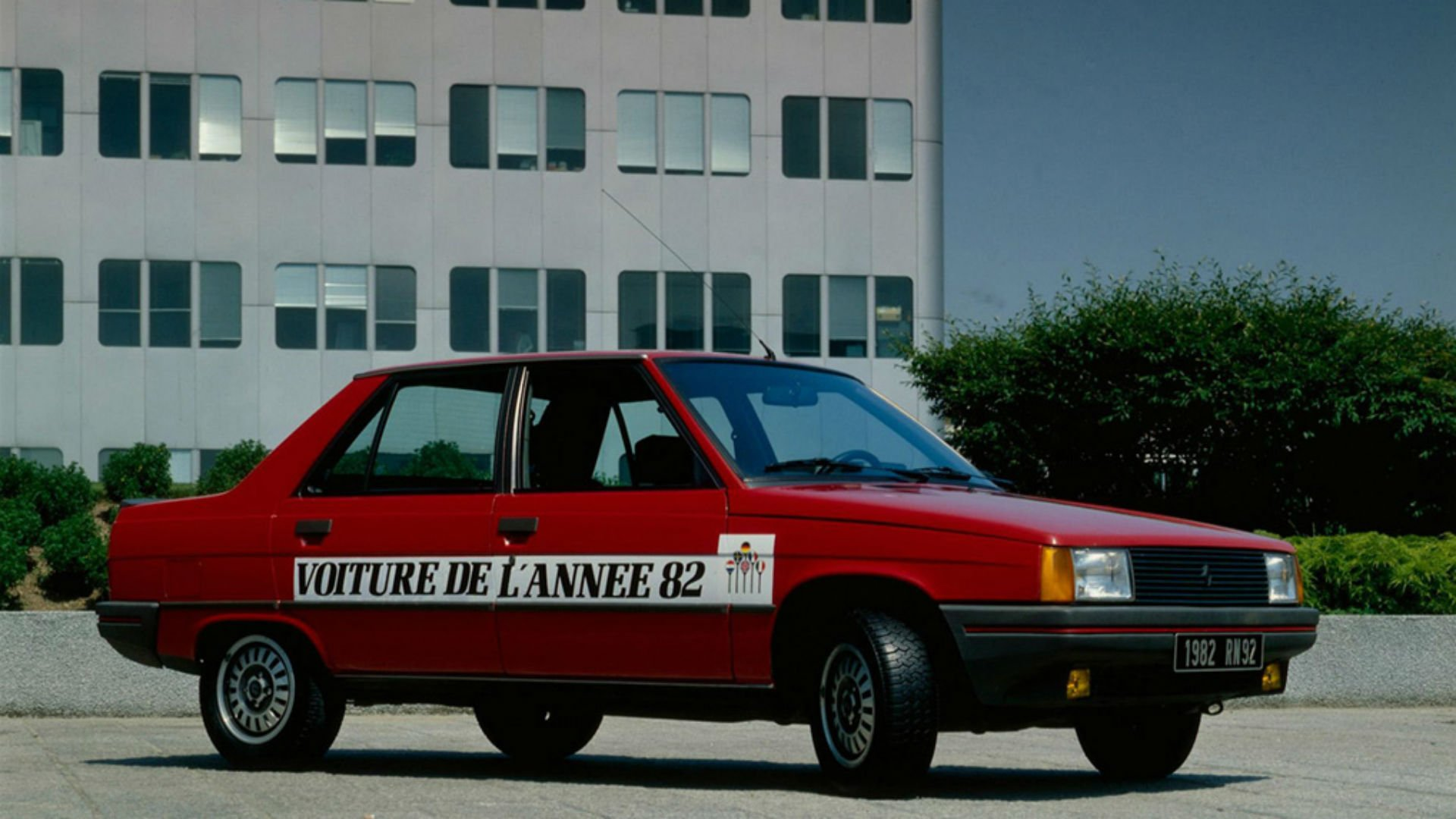 Renault 9 Car of the Year 1982