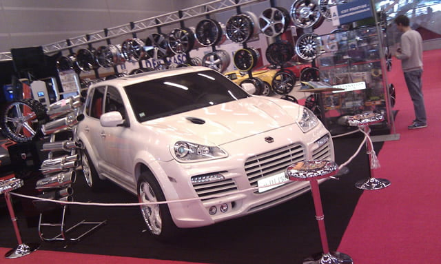 Porsche Cayenne modified