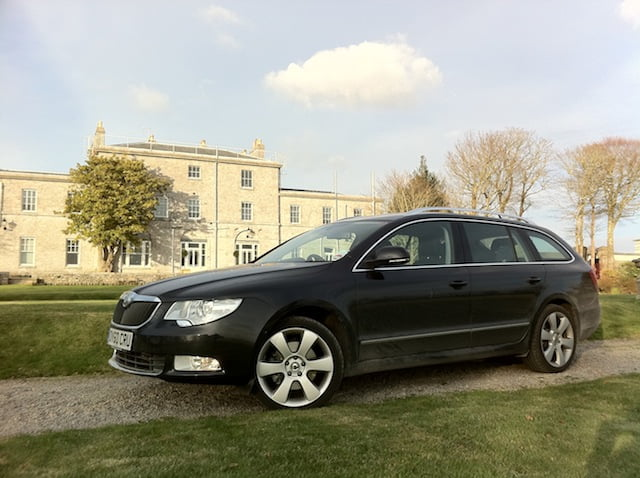 Joker in the pack: Škoda Superb estate