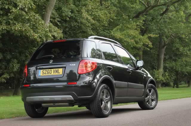 Things that make you go hmmm: Suzuki SX4
