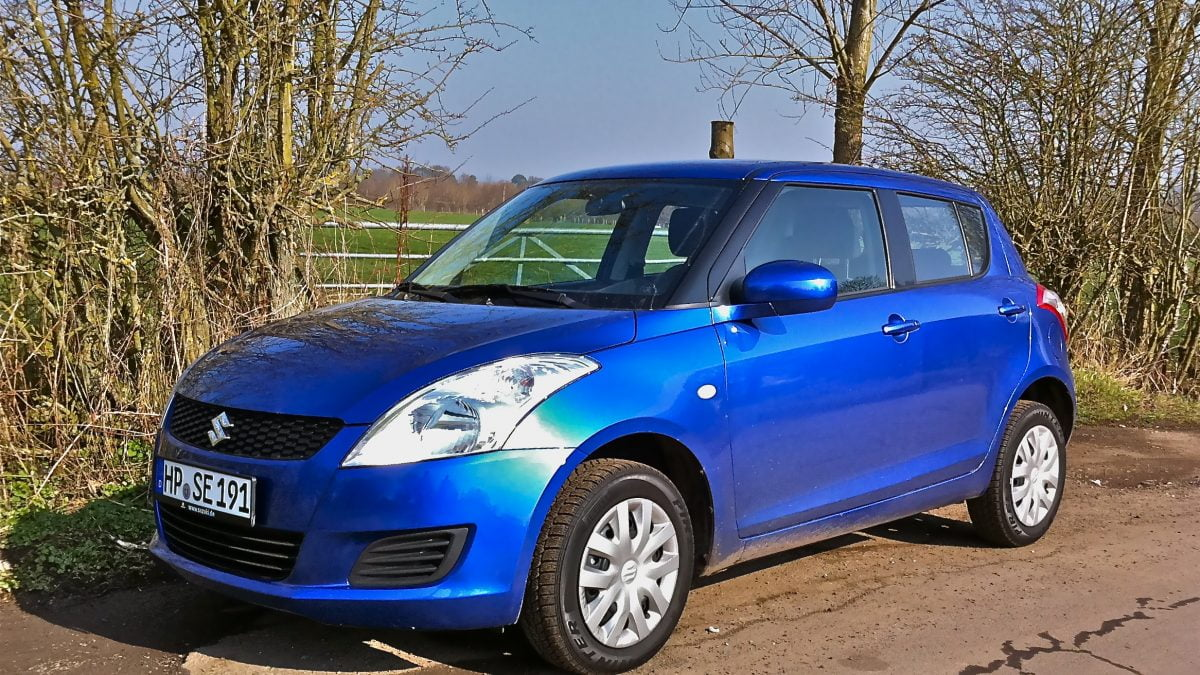 brief encounter suzuki swift 4x4 petrolblog. Black Bedroom Furniture Sets. Home Design Ideas