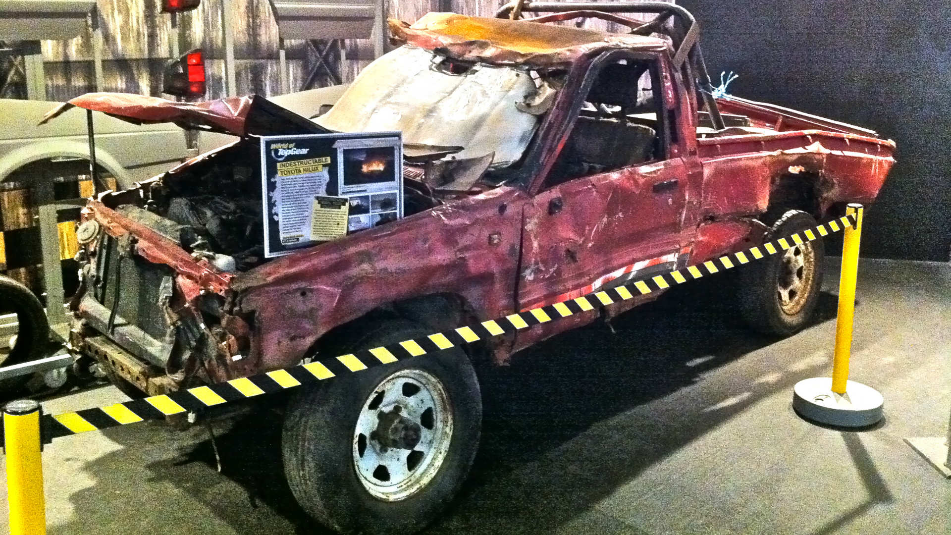 Toyota Hilux from Top Gear