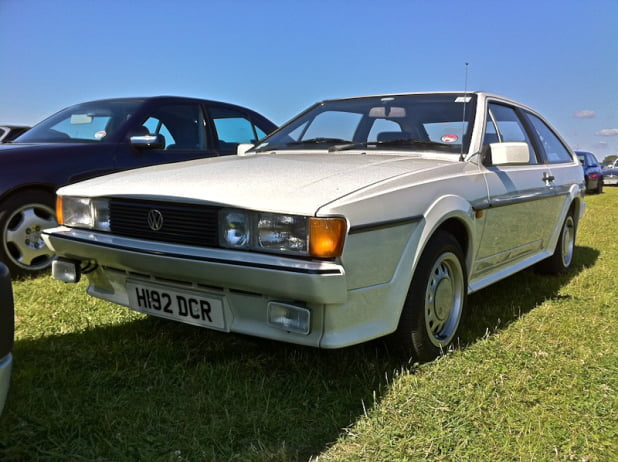 VW Scirocco GTII at Goodwood