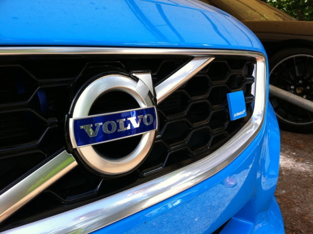 Volvo C30 Polestar grille and badge