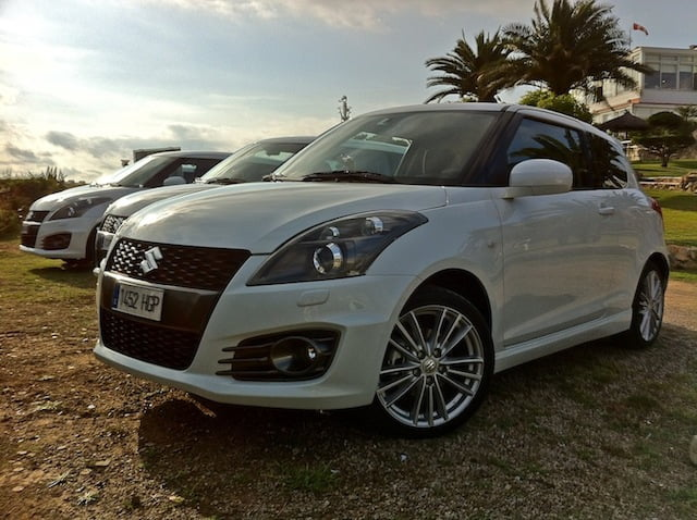 First Drive: New 2012 Suzuki Swift Sport