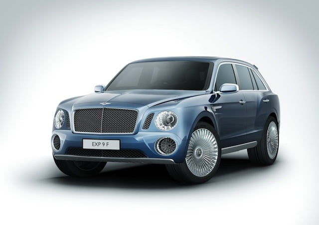 Fusing horror with pain: Bentley EXP 9 F