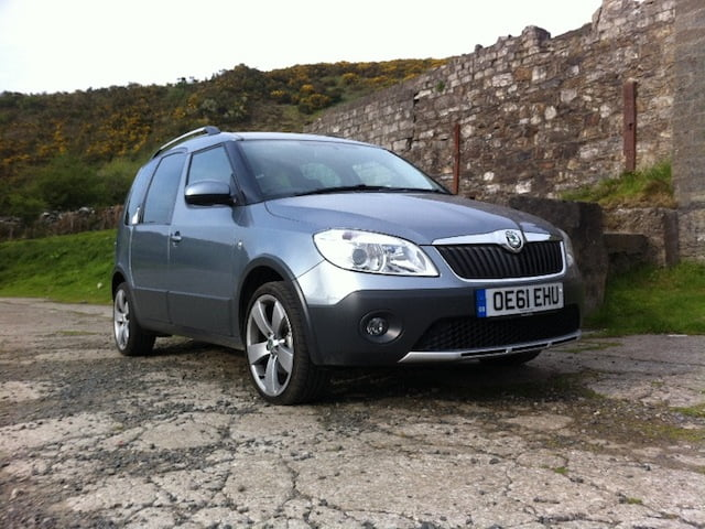 utilitarianism skoda roomster scout 1 6 tdi petrolblog. Black Bedroom Furniture Sets. Home Design Ideas