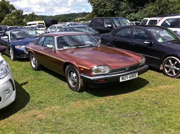 Jaguar XJ-S at Goodwood Festival of Speed 2012