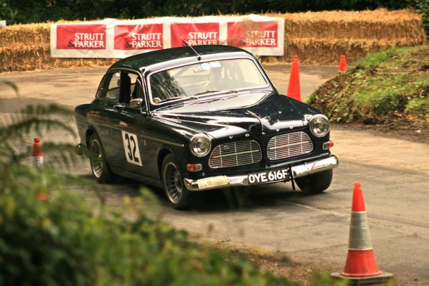 1967 Volvo Amazon at the Pentillie Festival of Speed 2012