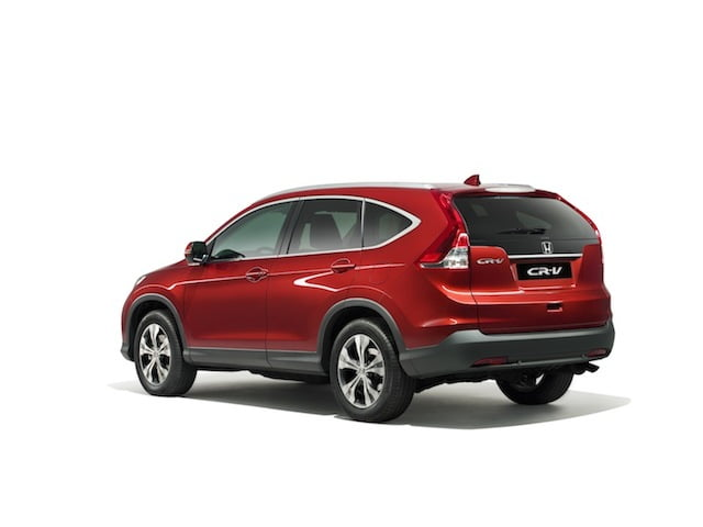 Man Maximum: Honda CR-V review