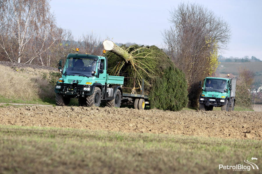Real World Dream Barn: Mercedes Unimog