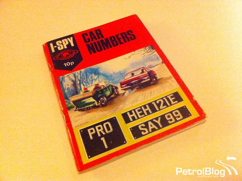 I Spy Car Numbers book