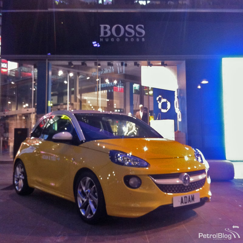 The Boss? New 2013 Vauxhall ADAM