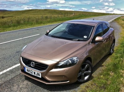 2012 Volvo V40 review on PetrolBlog