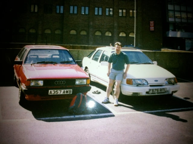 Rob Griggs-Taylor and Ford Sierra