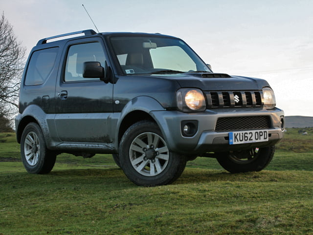 2013 Suzuki Jimny SZ4 review on PetrolBlog