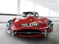 Red-E-Type Jaguar