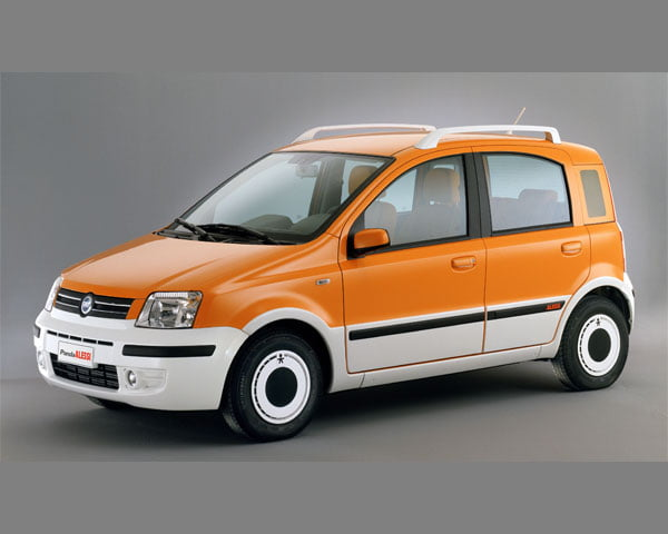 Yesterday's Specials: Fiat Panda Alessi