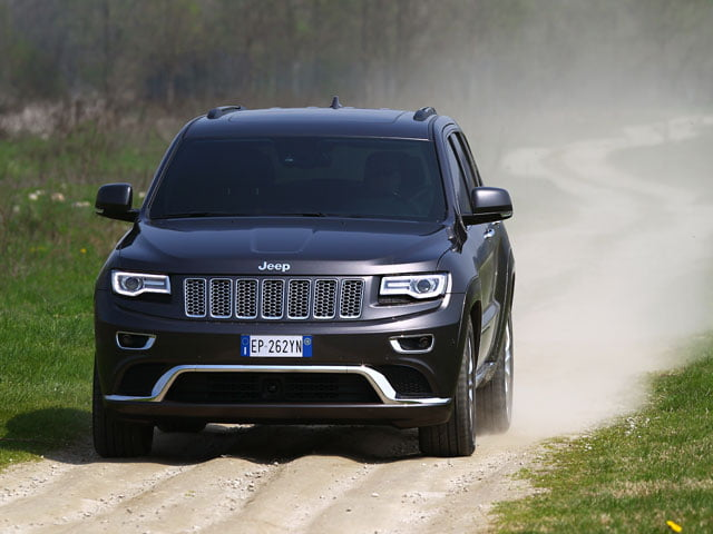 Off-road in the 2013 Jeep Grand Cherokee