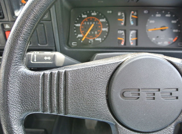 MK1 Vauxhall Astra GTE steering wheel and dials