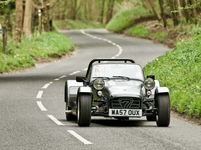 Real World Dream Barn: Caterham 7