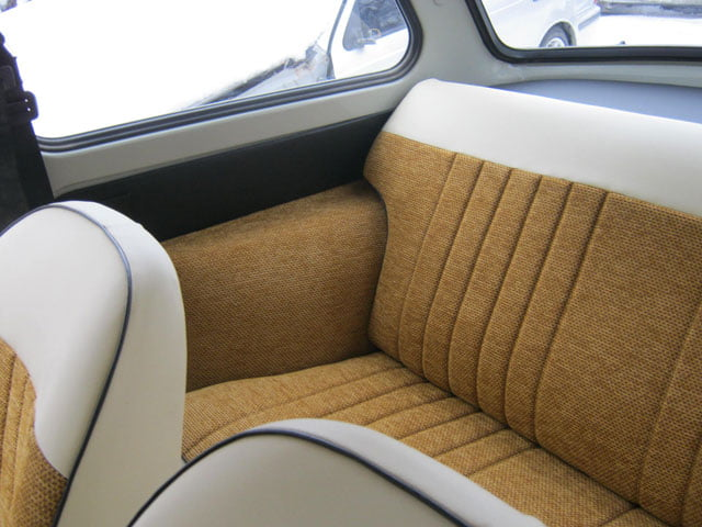 Right-hand drive Trabant 601 other rear seat