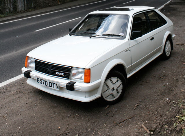 Team PB drives: MK1 Vauxhall Astra GTE