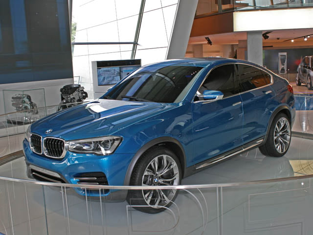 BMW X4 Sports Activity Coupe concept at BMW Welt