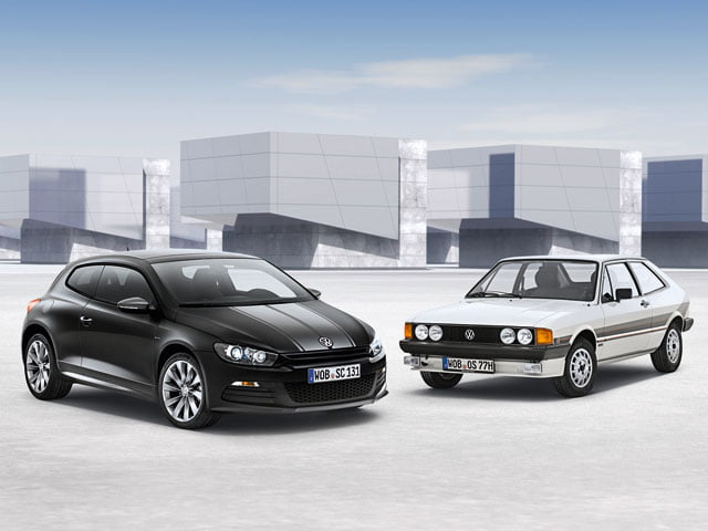 VW Scirocco Million and MK1 Scirocco