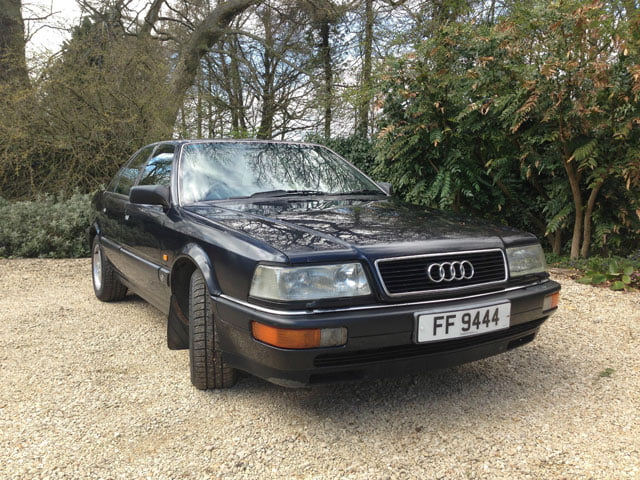 Supreme provenance: Audi V8