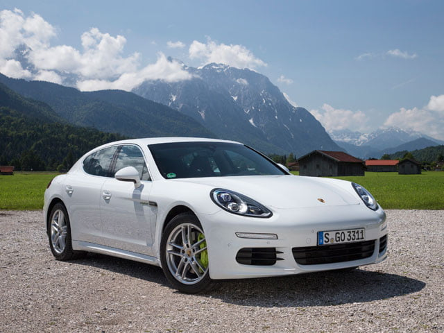 The new Porsche Panamera S E-Hybrid - a plug-in hybrid