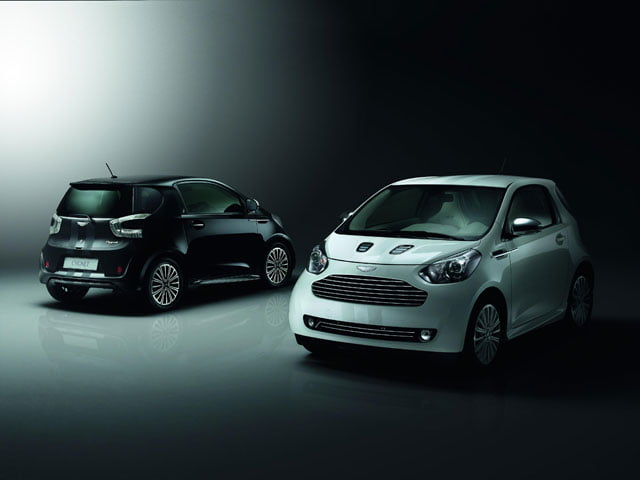 Cygnet: the unacceptable face of Aston Martin?