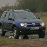 Lights on! Dacia Duster Ambiance in Caspian Blue