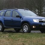 The Dacia Duster Ambiance in Caspian Blue