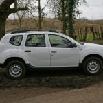 Dacia Duster Access 1.6 4×4 side view