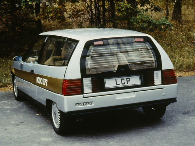 Rear of Volvo LCP2000