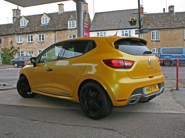 Rear of Renaultsport Clio 200 Turbo