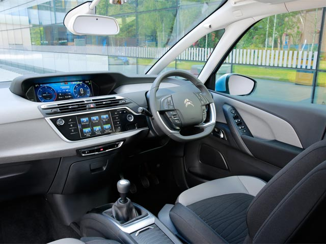 New Citroën C4 Picasso interior