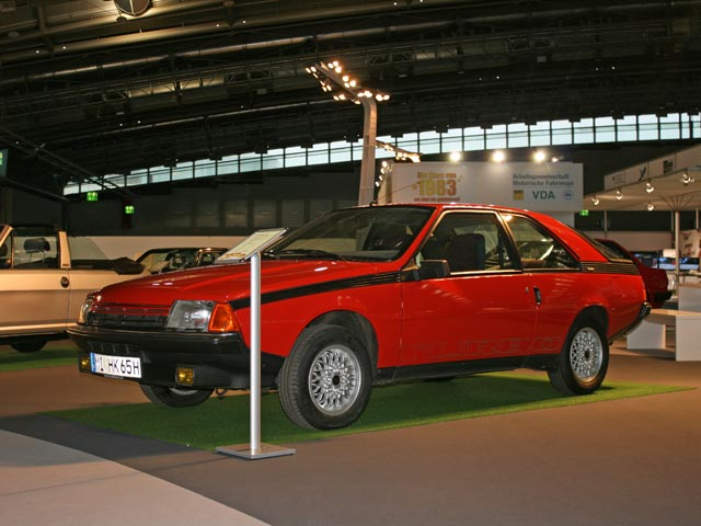 Renault Fuego Turbo at the Frankfurt Motor Show