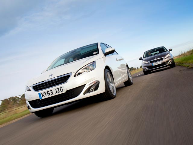 New Peugeot 308 twin car tracking