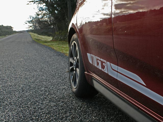 2013 MG3 3Style rear wheel