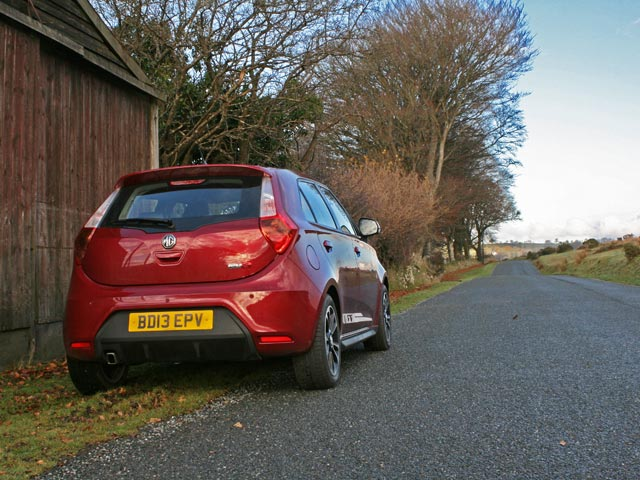 2013 MG3 3Style rear