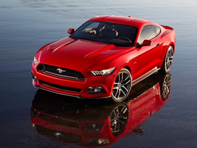 2015 European Ford Mustang