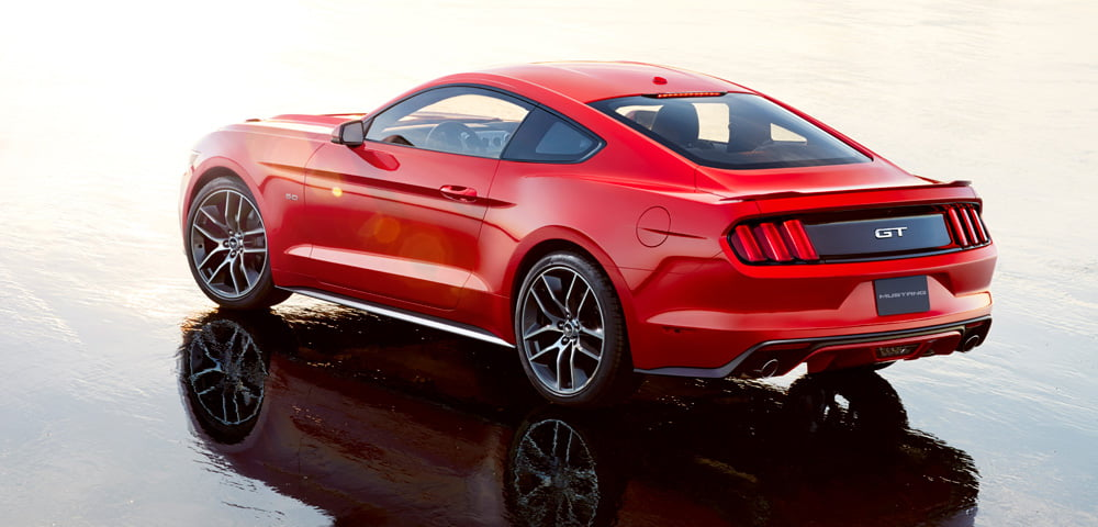 2015 Ford Mustang for Europe